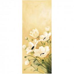 Image pour tableaux 3D 10x25 cm - 0250003 Fleurs blanches-  Aux Bleuets Loisirs créatifs à Reims
