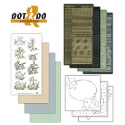 Dot and do 011 - Kit Carte 3D - Condoléances