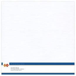 Papier Scrap 30.5x30.5 cm uni blanc la feuillle
