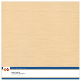Papier Scrap 30.5x30.5 cm uni Sable la feuille