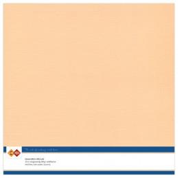 Papier Scrap 30.5x30.5 cm uni Saumon la feuille