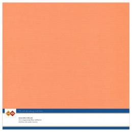 Papier Scrap 30.5x30.5 cm uni Orange tendre la feuille