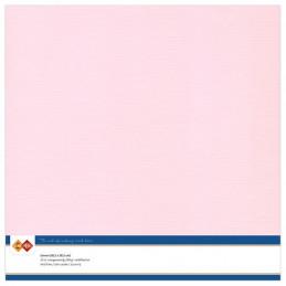 Papier Scrap 30.5x30.5 cm uni Rose pale la feuille