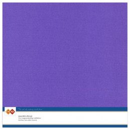 Papier Scrap 30.5x30.5 cm uni Violet la feuille