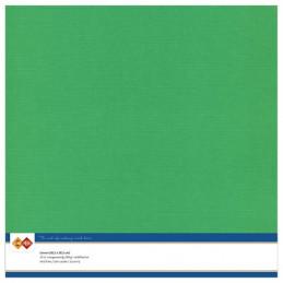 Papier Scrap 30.5x30.5 cm uni Vert la feuille