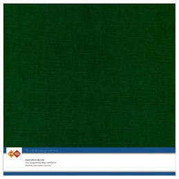 Papier Scrap 30.5x30.5 cm uni Vert Noël la feuille