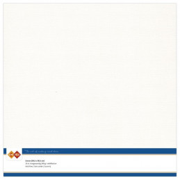 Papier Scrap 30.5x30.5 cm uni Blanc cassé la feuille