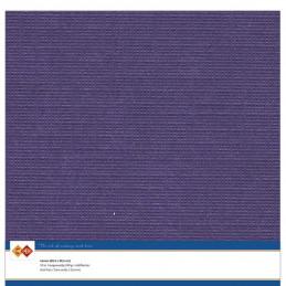 Papier Scrap 30.5x30.5 cm uni Violet foncé la feuille