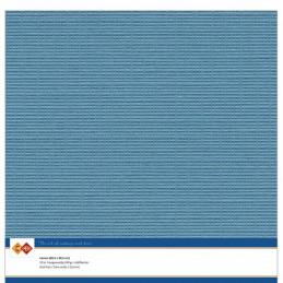 Papier Scrap 30.5x30.5 cm uni turquoise la feuille