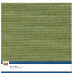 Papier Scrap 30.5x30.5 cm uni Vert mousse la feuille