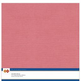 Papier Scrap 30.5x30.5 cm uni Flamingo la feuille