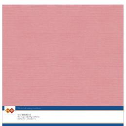 Papier Scrap 30.5x30.5 cm uni Vieux rose la feuille