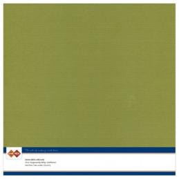 Papier Scrap 30.5x30.5 cm uni Vert olive la feuille