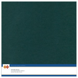 Papier Scrap 30.5x30.5 cm uni Jade la feuille