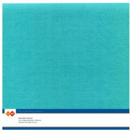 Papier Scrap 30.5x30.5 cm uni Emeraude la feuille