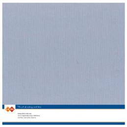 Papier Scrap 30.5x30.5 cm uni Vieux bleu la feuille
