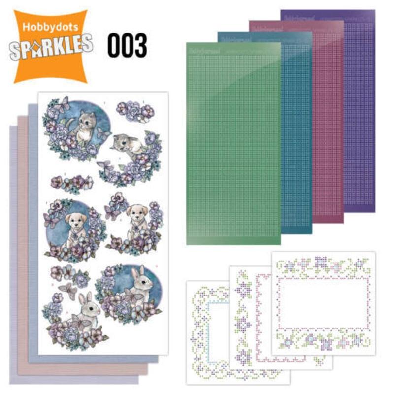 Kit Sparkles Set 3 Amour d'animaux