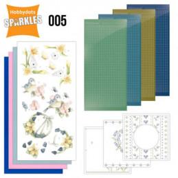 Kit Sparkles Set 5 - Oiseaux et Fleurs