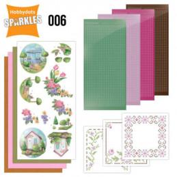 Kit Sparkles Set 6 - Maisons fleuries