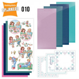 Kit Sparkles Set 10 - Entre amies