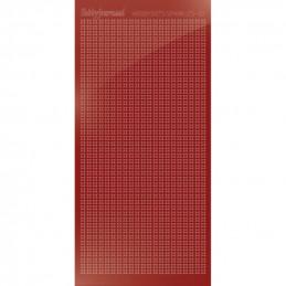 Hobbydots sticker Sparkles 01 Miroir Rouge