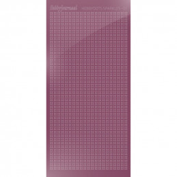 Hobbydots sticker Sparkles 01 Miroir Violet