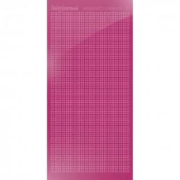 Hobbydots sticker Sparkles 01 Miroir Rose