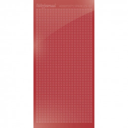 Hobbydots sticker Sparkles 01 Miroir Rouge Noël