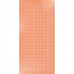 Hobbydots sticker Sparkles 01 Miroir Saumon