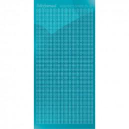 Hobbydots sticker Sparkles 01 Miroir Bleu azur