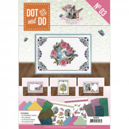 Dot and do Livre n°3 - Kit Carte 3D - C'est le printemps