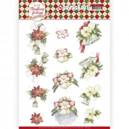 Carte 3D prédéc. - SB10375 - Warm Christmas Feelings - Cloches de Noël