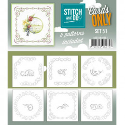 Cartes seules Stitch and do  - Set n°51