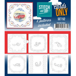 Cartes seules Stitch and do  - Set n°52