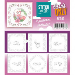 Cartes seules Stitch and do  - Set n°53