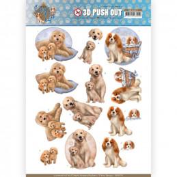Carte 3D prédéc. - SB10379 -  Dog's Life - Chiens et chiots