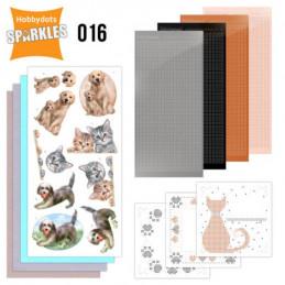 Kit Sparkles Set 16 - Chats et chiens