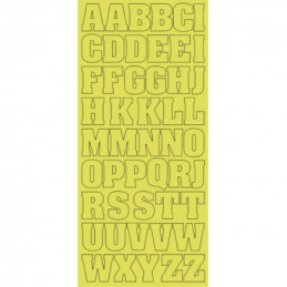 Sticker Alphabet XL or