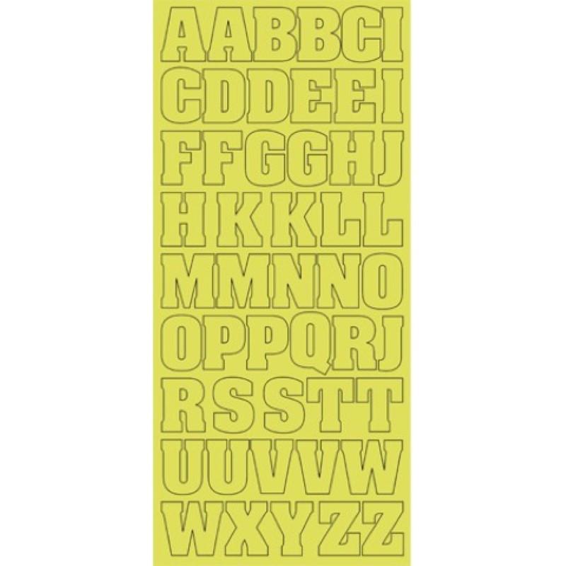 Sticker Alphabet XL or