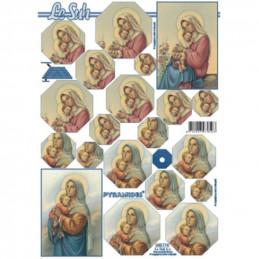 Carte 3D à découper - Religion - 630174