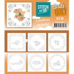 Cartes seules Stitch and do  - Set n°56