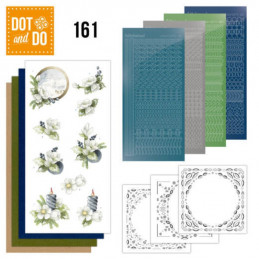 Dot and do 161 - kit Carte 3D  - Amaryllis et Myrtilles