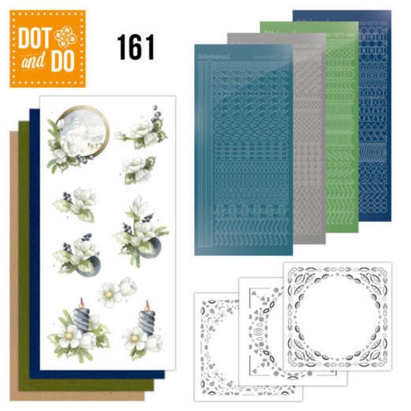 Dot and do 161 - kit Carte 3D  - Amaryllis et Myrtilles