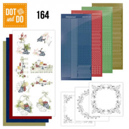 Dot and do 164 - kit Carte 3D  - Grappes de raisin