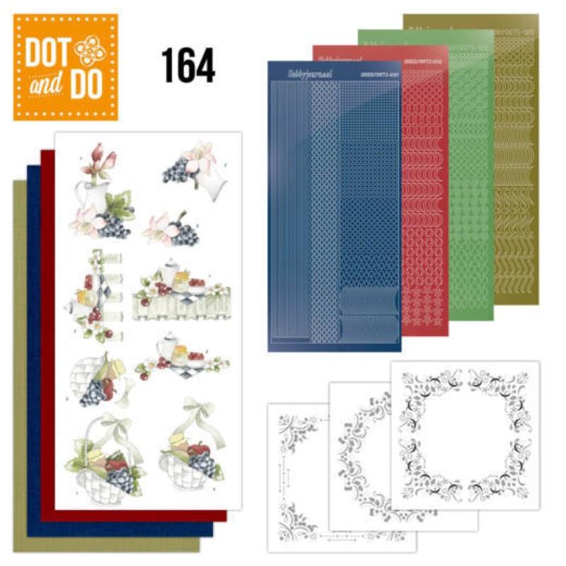 Dot and do 164 - kit Carte 3D  - Grappes de raisin