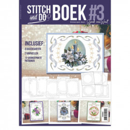 Stitch and Do Livre n°3 - Kit Carte 3D à broder