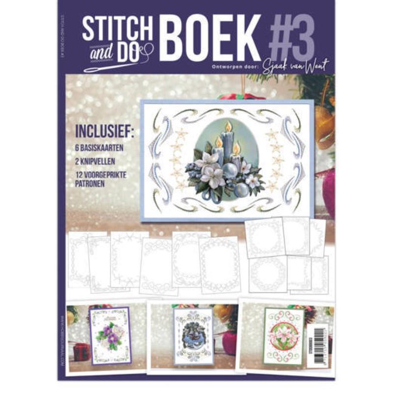 Stitch and Do Livre n°3 - Kit Carte 3D à broder