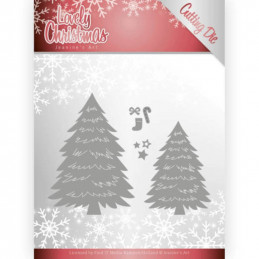 Die - Jeaninnes art - JAD10081 - Lovely christmas - Sapins