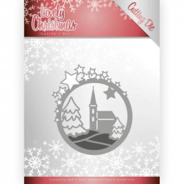 Die - Jeaninnes art - JAD10082 - Lovely christmas - Eglise