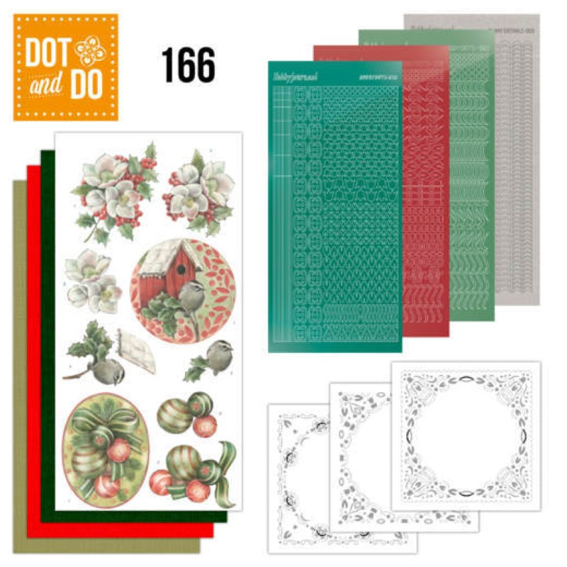 Dot and do 166 - kit Carte 3D  - Décorations de Noël